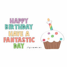 happy birthday animated free card for facebook cake candles