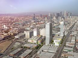 mapping the rise of la u0027s tallest towers