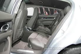 Porsche Panamera Edition - porsche panamera edition interior rear seats at auto china 2016