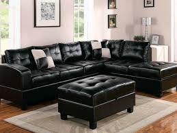 furniture 57 elegant black leather lazy boy sectionals with