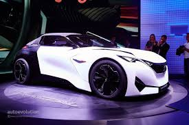 peugeot sports car 2015 peugeot fractal concept proves the french have style in paris