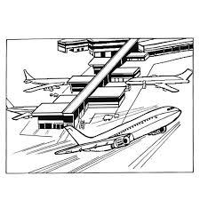 Dessins Gratuits à Colorier  Coloriage Porte Avion à imprimer