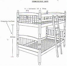 Safety Of Bunk Beds - Height of bunk beds