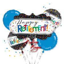retirement balloon bouquet happy retirement bouquet balloon