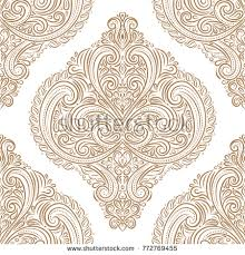 ornamental seamless pattern vintage traditional ethnic stock