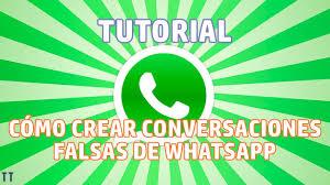 tutorial espiar conversaciones whatsapp tutorial cómo crear conversaciones falsas de whatsapp y más youtube