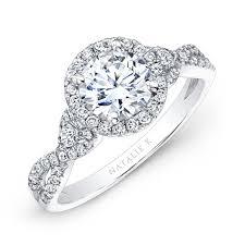 white gold halo engagement rings 18k white gold halo engagement ring with p