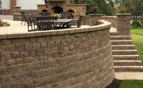 retaining walls hardscapes and mortarless wall systems