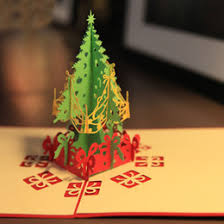 christmas tree pop up card online pop up greeting card christmas