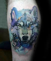 125 wolf tattoos with meanings