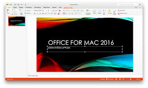 microsoft office 2016 for mac equals windows finally