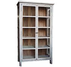reclaimed wood curio cabinet anna curio cabinet
