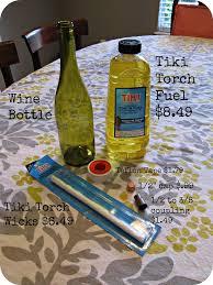 how to make a wine bottle l diy wine bottle tiki torch cody uncorked diy pinterest wine