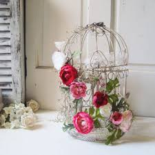 bird cage decoration vintage decorative bird cage with from willowsendcottage on etsy