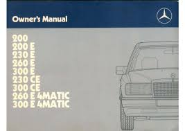 mercedes 300e owners manual by mmamakas issuu