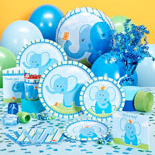 blue elephant baby shower decorations baby gift showers elephant baby showers