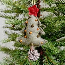 christmas tree shop ls buy hanging felt christmas trees the worm that turned
