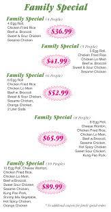 family garden menu ming u0027s garden chinese restaurant saint paul st paul mn