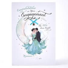 engagement ceremony invitation in store engagement cards from 99p card factory
