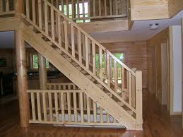 home interior stairs log cabin staircases log home staircases house ideas