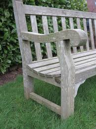 Old Wooden Benches For Sale Vintage Wooden Garden Outdoor Bench With Great Patina