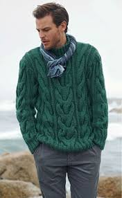 s sweater knit fisherman sweater cable pattern tvkstyle