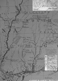 Map Of Plantations Near New Orleans by Mississippi Digital Map Library