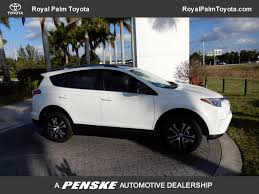 toyota dealer me used toyota rav4 at royal palm toyota serving wellington royal