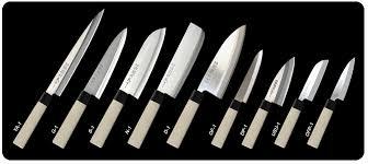 couteau japonais cuisine couteaux japonais collection eco