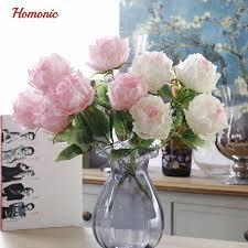 Silk Flowers Wholesale Online Shop European Eternal Rose Vintage Fake Peony Silk Flower