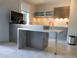 plan de table cuisine table de cuisine avec plan de travail