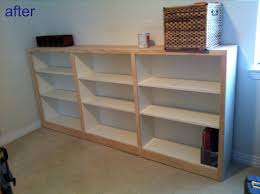 Beech Billy Bookcase Bookcases Complete With Trim Great Tutorial For Billy