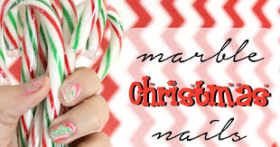 elle sees beauty blogger in atlanta how to marble christmas nails