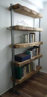 best wood for bookcase metal and wood bookshelf dianewatt com