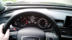 audi 2011 model audi a6 3 0 tdi 2011 model speedo on the autobahn