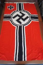German Flag 1940 War Memorabilia War Antiques German Weapons Usa British And