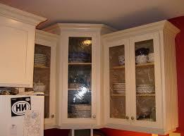 White Corner Cabinet With Doors Corner Kitchen Cabinets Design Oak Island White Marble Tops Small