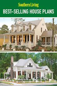 One Story Farmhouse by Top 12 Best Selling House Plans Southern Living House Plans