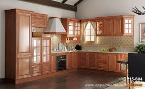 how to clean cherry wood cabinets rural cherry wood kitchen cabinet op15 s04 oppein the