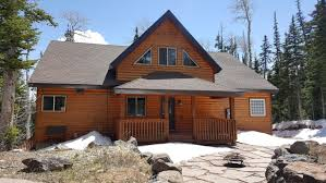 brian head real estate ski in and ski out luxury smart cabin for