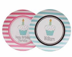 personalized birthday plate birthday plate etsy