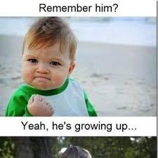 Baby With Fist Meme - he s grown up apparently by assier17 meme center