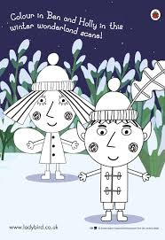 ben and holly colouring pages ben and holly u0027s little kingdom