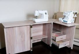 How To Make A Sewing Table by How To Make A Table For Sewing Machines Sewing Desk With His