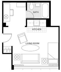 Efficiency Apartment Floor Plans 110 Best Studio Apartment Images On Pinterest Studio Apt