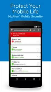 mcafee mobile security apk mcafee spylocker remover apk free tools app for