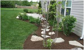garden mulch ideas home outdoor decoration
