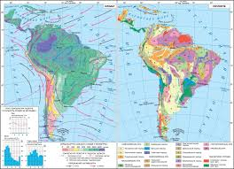 Geographical Map Of South America by Multimedia Curated Images The Environmental Issues In Argentina