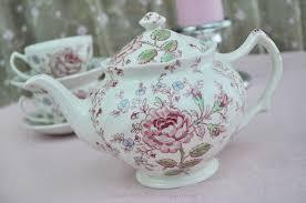 roses tea set chintz pink tea set everyday tea