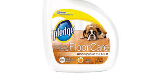 pledge floorcare wood spray cleaner review
